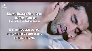 Chal Ghar Chalen - Arijit Singh - Lyrics With English Translation