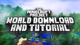 The Minecraft Project World Download + Tutorial!