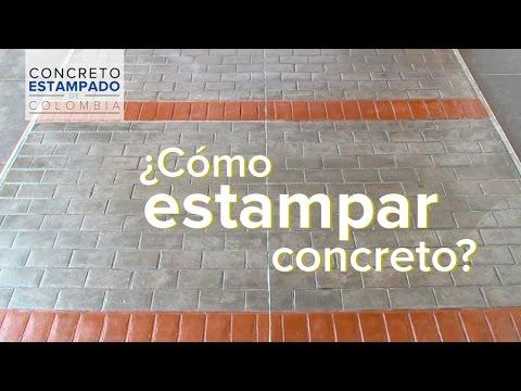 Concreto Estampado Muestra 1 Concreto Estampado Colombia