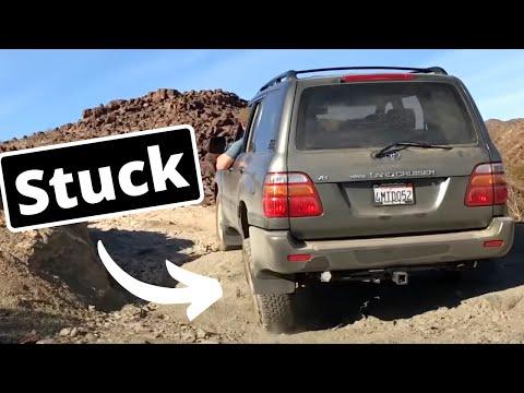 2000 Toyota Land Cruiser Off Roading(Will We Make It?)