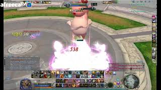 Aion 7.0 KR 아이온 흰꽃 Assassin vs Cleric & Chanter Duels