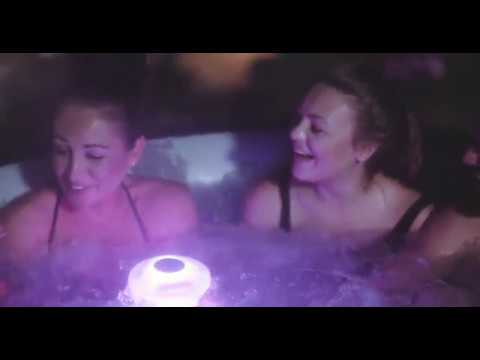 SUPER Portable JACUZZI Spa auto Inflatable, Very easy to install, water heat 40C, bubble massage 😱