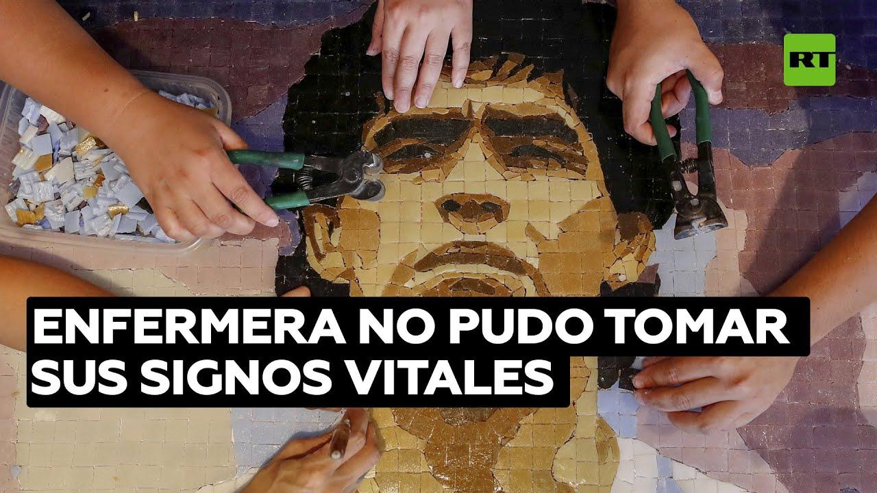 Enfermera de Maradona declara que nunca pudo tomar sus signos vitales