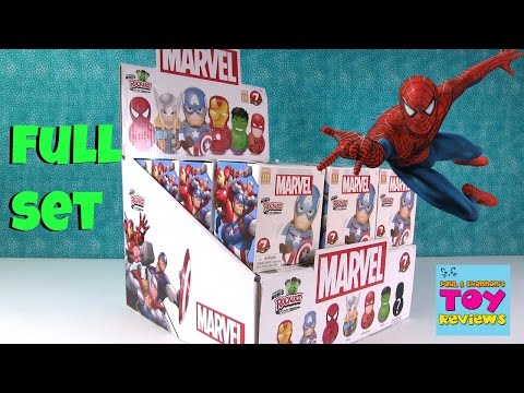 Marvel Rockerz Series 1 Full Box Opening Blind Bag Fun | PSToyReviews