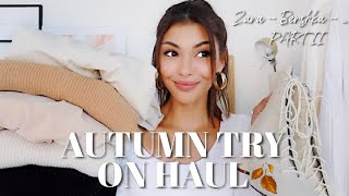 TRY ON HAUL Automne 2019 ZARA BERSHKA Lisa Ngo