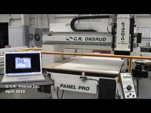 by C.R. Onsrud CNC - Routing Cabinet Door | Doovi