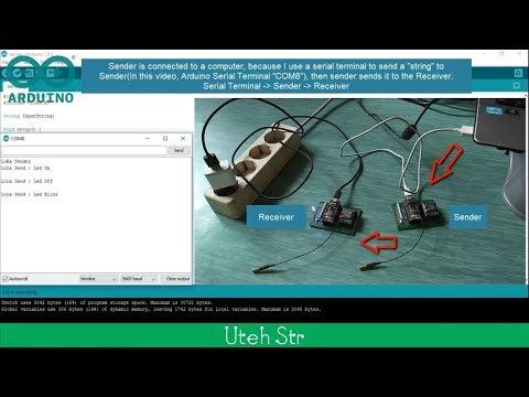 Arduino | Test Lora Ra-02 SX1278 With Arduino