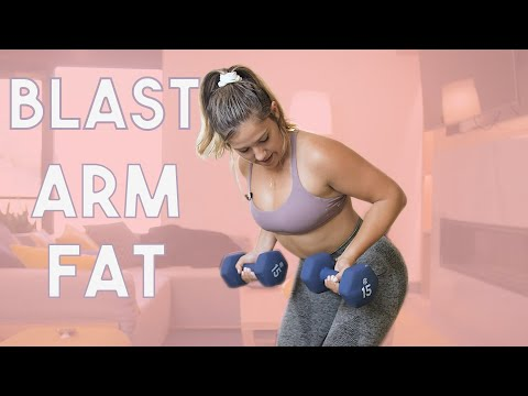 Lose Arm Fat FAST | Dumbbell Only Upper Body Workout