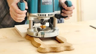 Фрезерование маленькой деревянной рамки, Milling Small Wood Frame