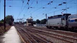 The Pennsylvanian,Train 42,Heritage Unit 145 and 7 Private Cars Part 9