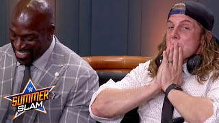 Matt Riddle's tense meeting with Goldberg backstage at SummerSlam: WWE Watch Along