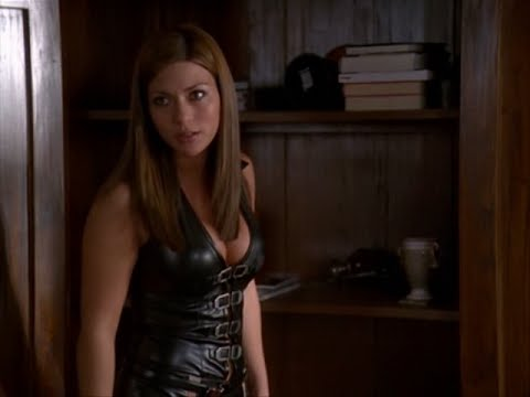 Marisol Nichols Charmed leather outfit
