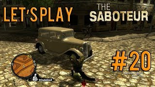 Let's Play The Saboteur Gameplay/Walkthrough [PC] [1080p] Part 20: Sabotage Attempt