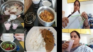 SUNDAY SPECIAL FISH CURRY||POMEGRANATE JUICE||RAMA SWEET HOME