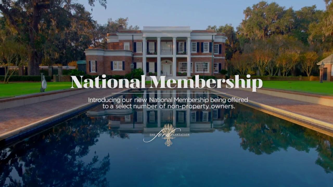Membership at The Ford Plantation - The Ford Plantation