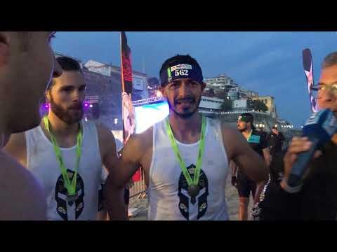 El IV Desafío de los 300 viste la playa de la Ribera con su espectáculo nocturno