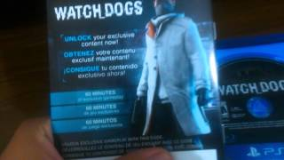 Unboxing Watch Dogs PS4 PTBR