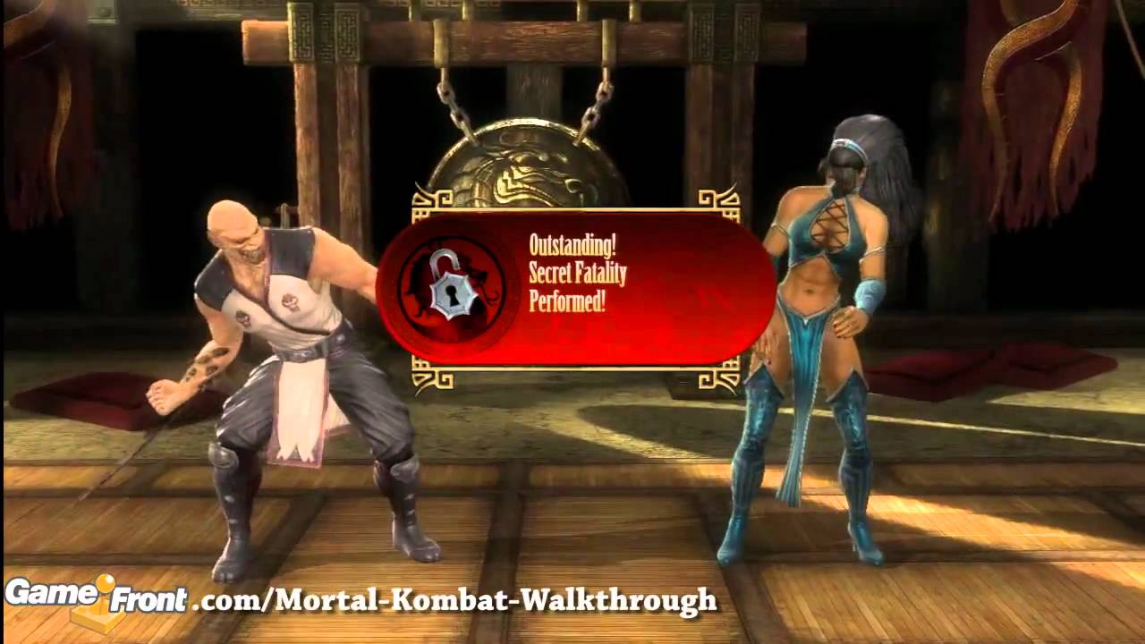 Mortal Kombat Fatalities Walkthrough Baraka Take A Spin