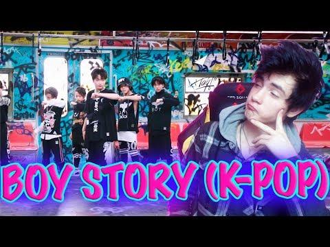 BOY STORY 4th Single Handz Up MV Реакция  K-POP  Реакция на BOY STORY 4th Single Handz Up