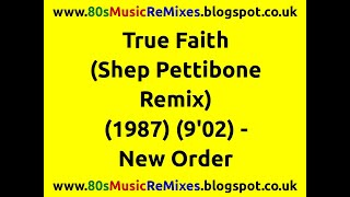 True Faith (Shep Pettibone Remix) - New Order | 80s Club Mixes | 80s Club Music | 80s Dance Music