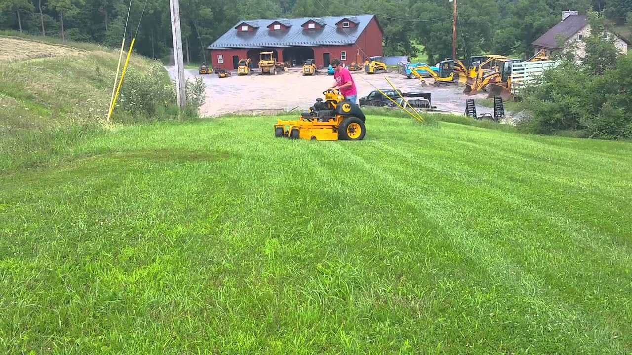 Wright 61` ZK Stander Lawn Mower For Sale Running and Operating!