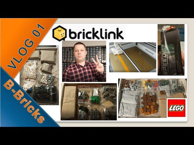 BrickLink VLOG #01: Lego kaufen, Bestellungen packen & Gadget 3D-Druck
