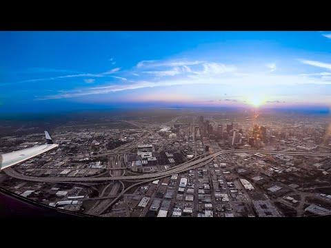 Beautiful sunset flight to Dallas. SAT-DAL Phenom 300