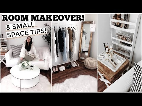 ROOM MAKEOVER!   Aesthetic Tips & Room Tour!