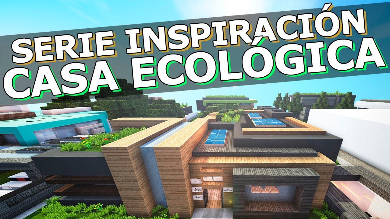 Casa moderna ecol gica minecraft inspiraci n youtube for Casa moderna 1 8