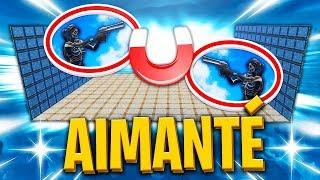 *NEW* FIGHT AIMANTÉ sur FORTNITE BATTLE ROYALE !!!