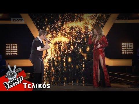 Έλενα Παπαρίζου - Φανή Ζωχιού | Αν μου τηλεφωνούσες, Δώδεκα | Τελικός | The Voice of Greece