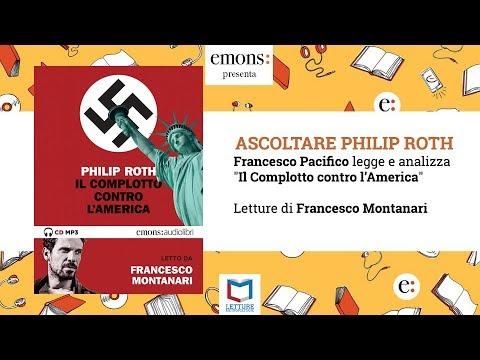 """Ascoltare Philip Roth e """"Il complotto contro l'America"""" con Francesco Piccolo"""