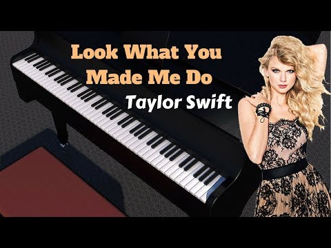 *Look What You Made Me Do*- Taylor swift | piano cover | taylor swift new song