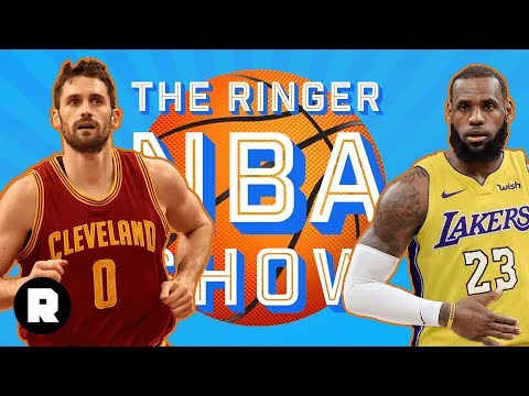 Kevin Love's Extension, The Carmelo Trade 2.0, And The Lakers' Meme Team | The Ringer NBA Show