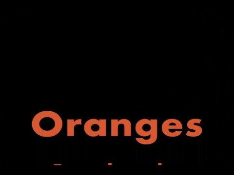 Oranges by Gary Soto