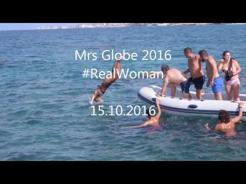Mrs Globe 2016 Sylvia Yammine -Real Woman-