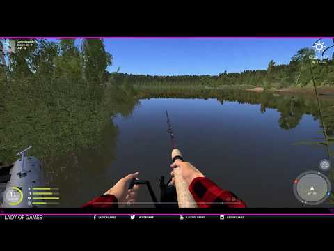 Russian Fishing 4 - ENGLISH - #048 The Basics of Spin Fishing