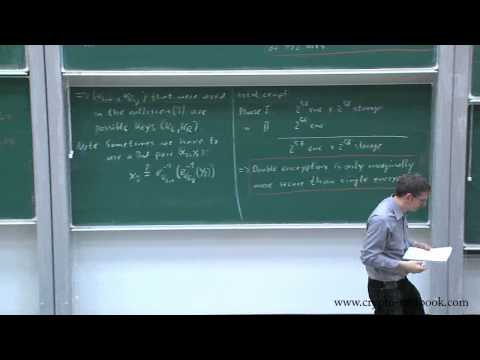Lecture 10: Multiple Encryption and Brute-Force Attacks by C
