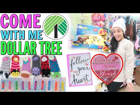 COME WITH ME TO DOLLAR TREE! NEW FINDS! NEW DEALS!
