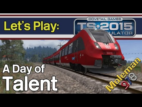 Let's Play: TS2015, A Day of Talent | DB BR 442 Talent
