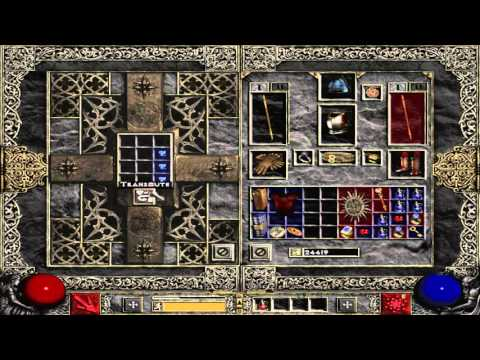 How to combine gems to make super one - Diablo 2 - YouTube