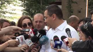 """Primul-ministru Victor Ponta a urmarit stadiul lucrarilor la spitalul """"Sfântul Pantelimon"""""""