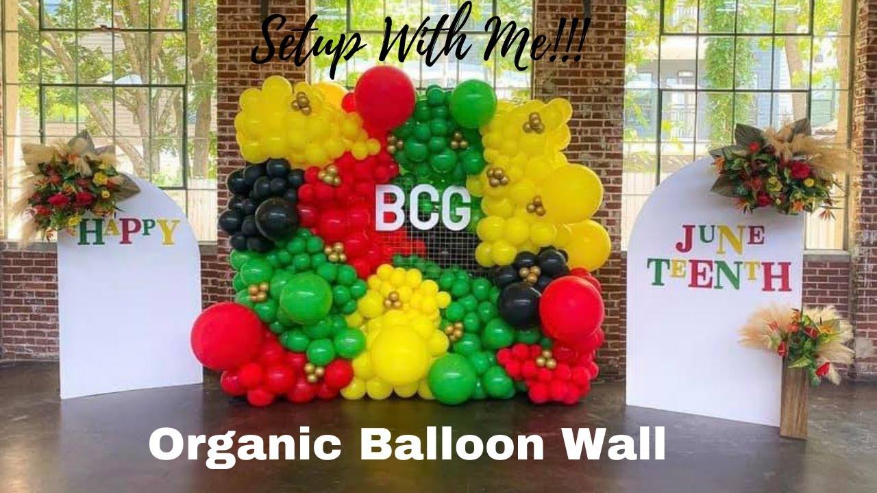 Setup With Me! Organic Balloon Wall