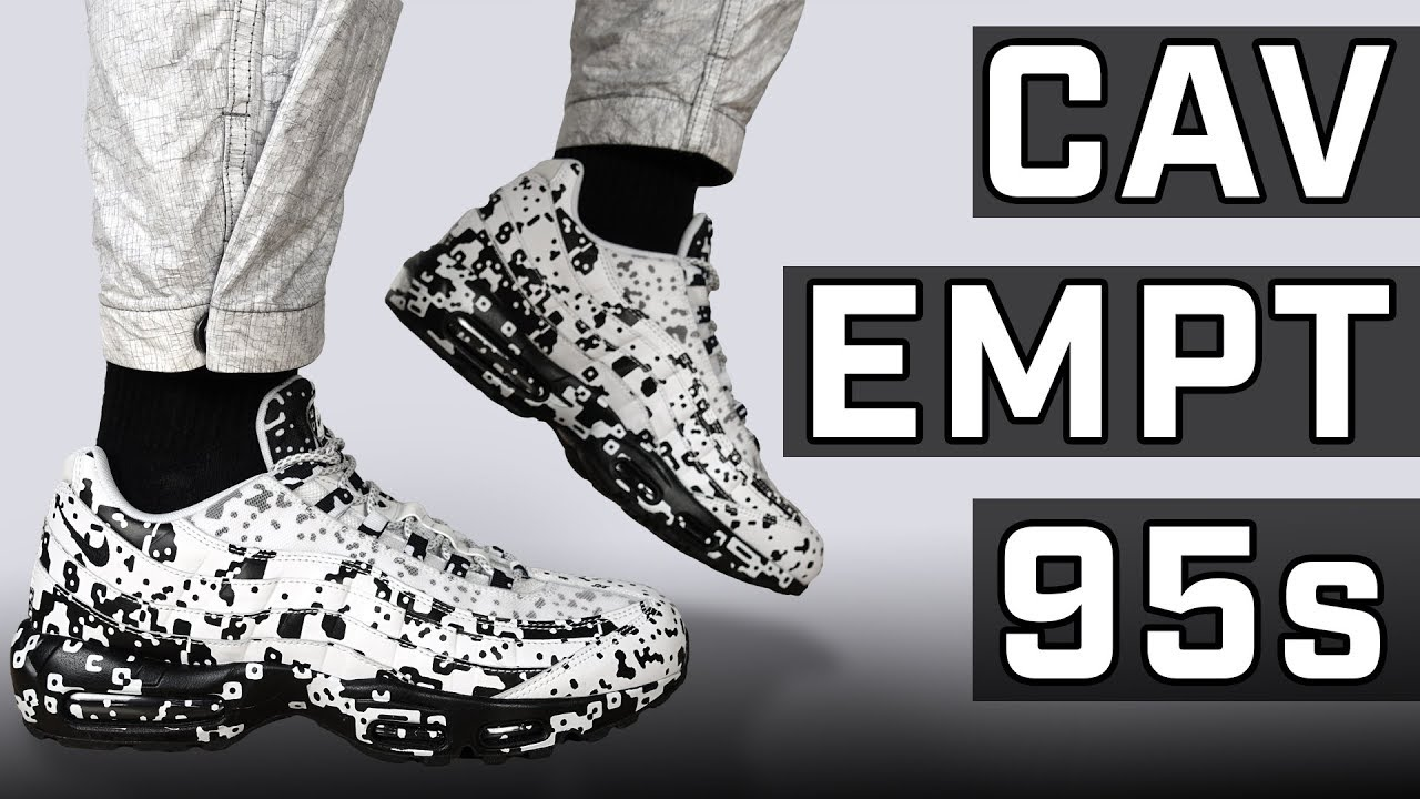 3f32f2c0e5 This Pattern is INSANE! Cav Empt x Nike Air Max 95 On Foot + Review ...