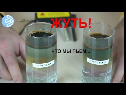 Тесты известных марок питьевой воды.