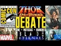 DEBATE - Marvel Studios Fase 4 SDCC - Thor 4 : Love & Thunder - Blade - Snyder Cut - The Witcher