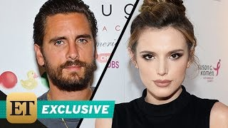 exclusive scott disick spotted on a date with bella thorne