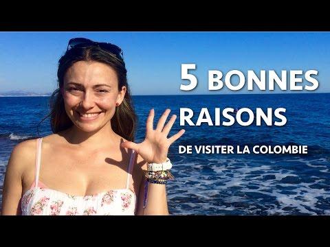 5 bonnes raisons de visiter la Colombie