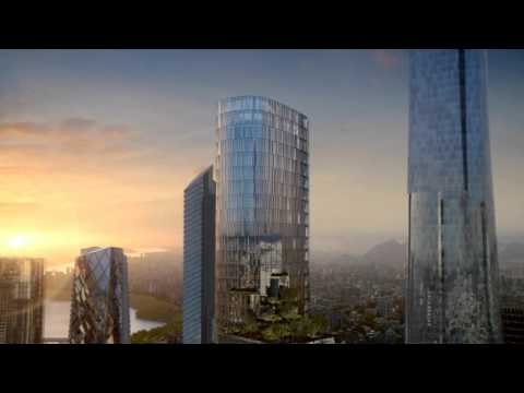 Yongsan International Business District; Block H [KPF] - DBOX