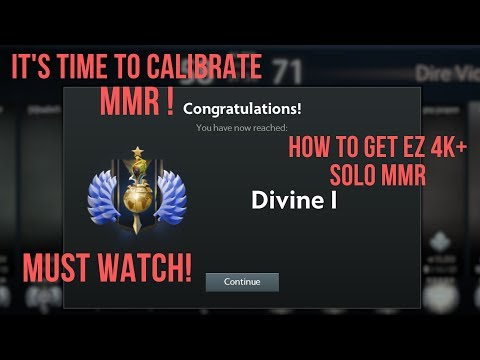 How to calibrate high mmr in dota2 account Mp3